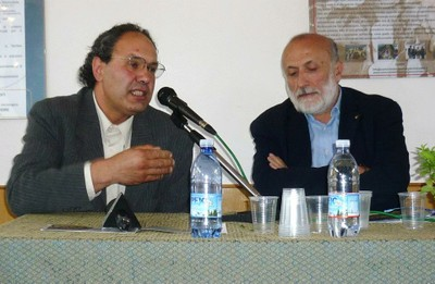 Mario Tanda e Carlo Petrini