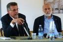 Sergio Chiacchella e Carlo Petrini