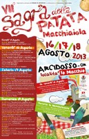 Locandina Sagra della patata macchiaiola 2013